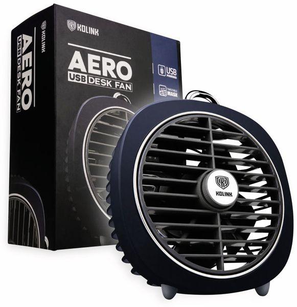 USB-Ventilator KOLINK Aero, dunkelblau - Produktbild 8