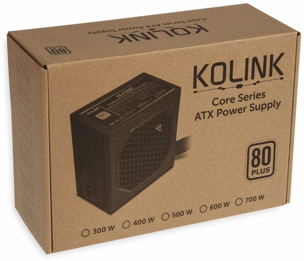 PC-Netzteil KOLINK KL-C500, 80 Plus, 500 W - Produktbild 5