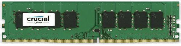 DDR4 Arbeitsspeicher CRUCIAL, 16 GB (1x 16 GB), 2400 MHz, CL17