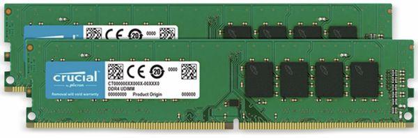 DDR4 Arbeitsspeicher CRUCIAL, 16 GB (2x 8 GB), 2666 MHz, CL19