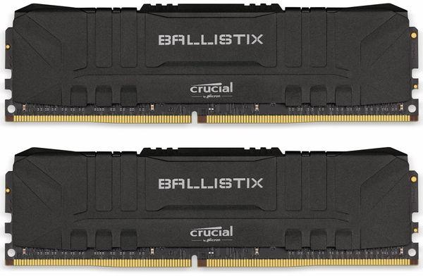 DDR4 Arbeitsspeicher CRUCIAL Ballistrix Black, 16 GB (2x 8 GB), 3000 MHz, CL15