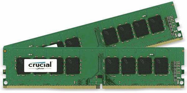 DDR4 Arbeitsspeicher CRUCIAL , 8 GB (2x 4 GB), 2400 MHz, CL17