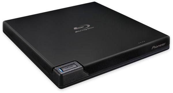 Blu-ray Brenner PIONEER BDR-XD07TB, extern, schwarz, Top Load, BDXL, M-DISC