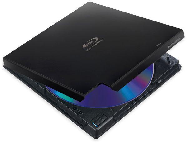 Blu-ray Brenner PIONEER BDR-XD07TB, extern, schwarz, Top Load, BDXL, M-DISC - Produktbild 2