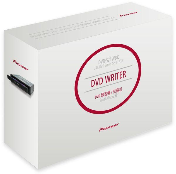 DVD-Brenner PIONEER DVR-S21WBK, Desktop, schwarz, M-DISC, Retail - Produktbild 2