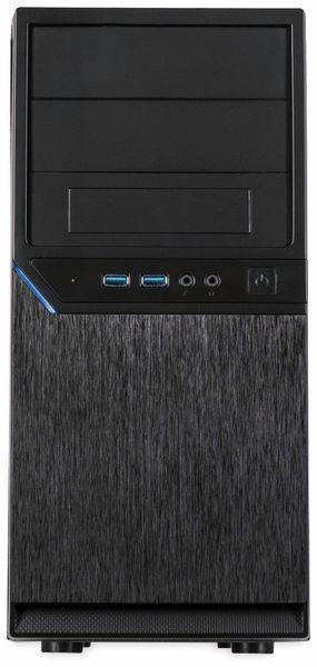 PC-Gehäuse INTER-TECH IT-6805, Micro, schwarz - Produktbild 2