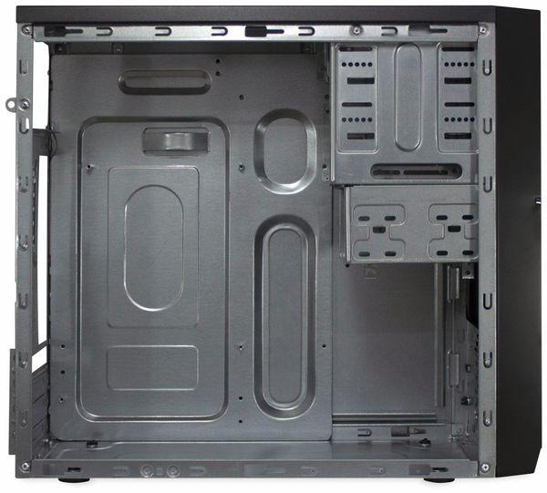 PC-Gehäuse INTER-TECH IT-6805, Micro, schwarz - Produktbild 3
