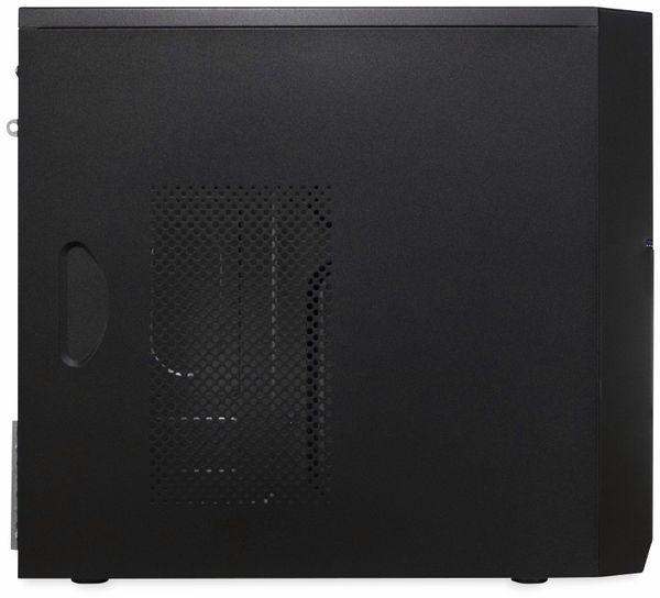 PC-Gehäuse INTER-TECH IT-6805, Micro, schwarz - Produktbild 4