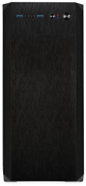 PC-Gehäuse INTER-TECH H-606, Micro, schwarz - Produktbild 2
