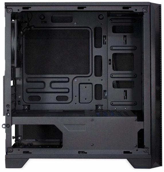 PC-Gehäuse INTER-TECH H-606, Micro, schwarz - Produktbild 3