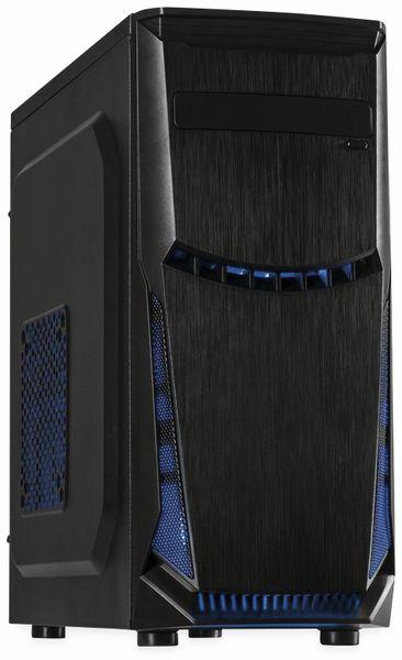 PC-Gehäuse INTER-TECH ATX B-49, Midi, schwarz