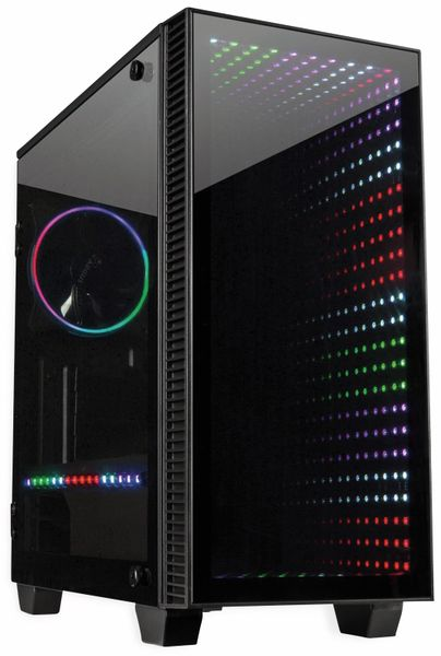 PC-Gehäuse INTER-TECH X-608, Infinity Micro