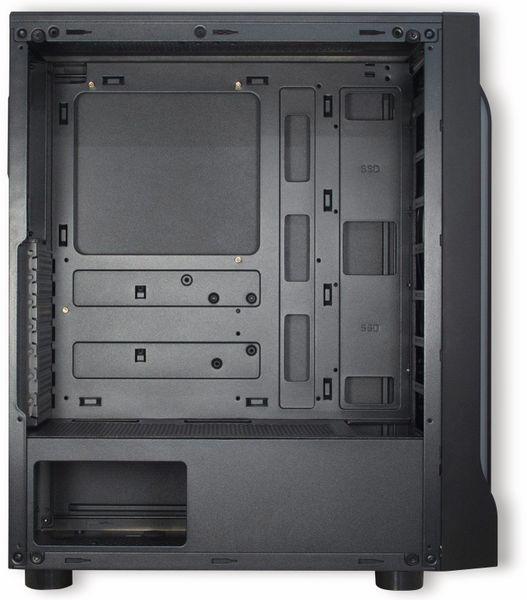PC-Gehäuse INTER-TECH A-3411, Creek Midi - Produktbild 3