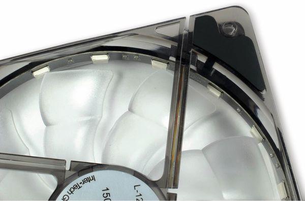 PC-Lüfter ARGUS L-12025 Aura, 120mm LED, RGB - Produktbild 2