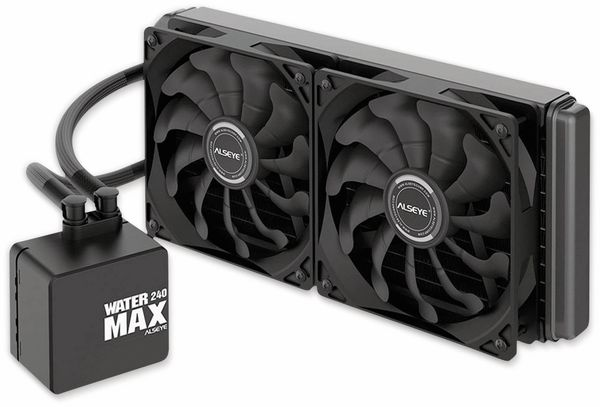 Wasserkühler INTER-TECH Alseye, MAX 240 - Produktbild 2