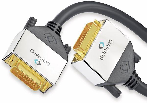 DVI-Kabel SONERO Premium, 2 m, Dual Link, Stecker/Stecker (24+1) - Produktbild 2