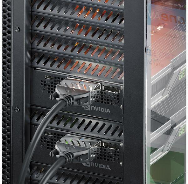 DVI-Kabel SONERO Premium, 2 m, Dual Link, Stecker/Stecker (24+1) - Produktbild 4