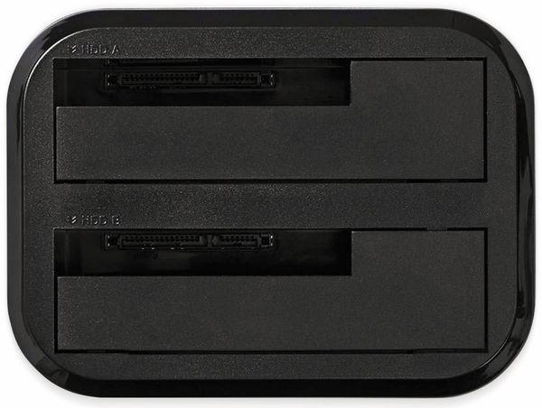 HDD-Dockingstation NEDIS, Dual - Produktbild 4