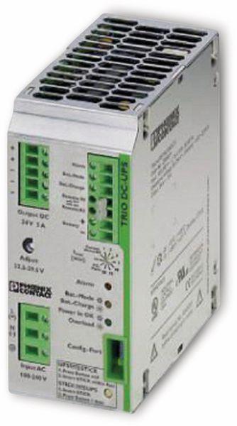 Phoenix Contact, Unterbrechungsfreie Stromversorgung, 2866611, TRIO-UPS/1AC/24DC/ 5