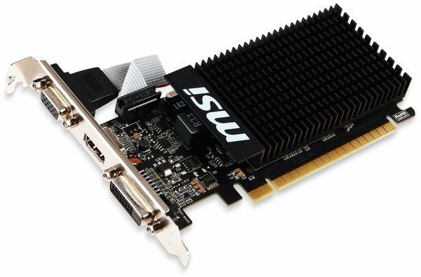 Grafikkarte MSI GT 710, 1 GB, HDMI, DVI, VGA - Produktbild 2