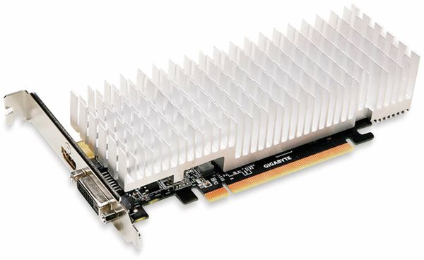 Grafikkarte GIGABYTE GeForce GT 1030, 2 GB, HDMI, DVI - Produktbild 2