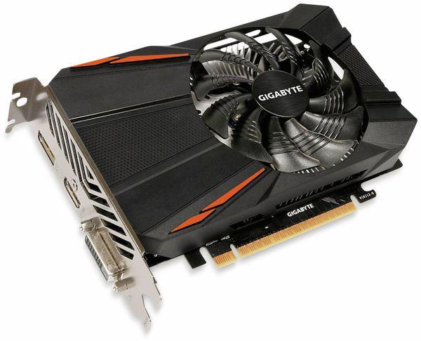 Grafikkarte GIGABYTE GeForce 1050Ti, 4 GB, HDMI, DVI, DP - Produktbild 2