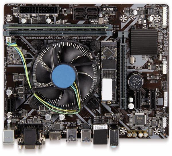 Mainboard-Bundle, Intel i3-8100, Gigabyte H310M S2H, 16GB DDR4, 512 GB SSD