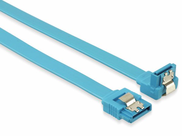 SATA III-Kabel, 0,4 m, 90°