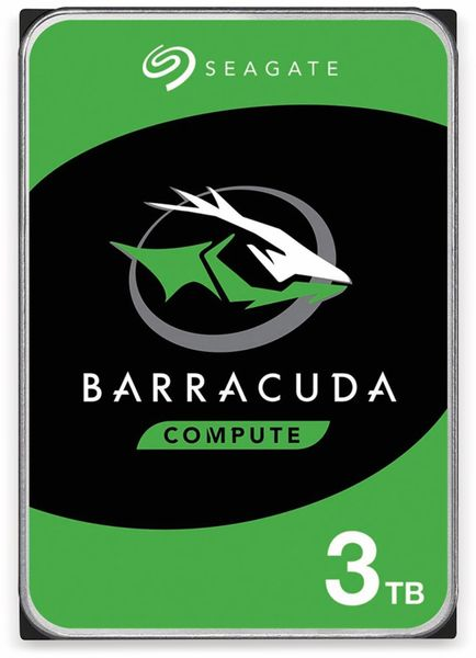 "HDD Seagate BarraCuda ST3000DM007, 3,5"", 3 TB, 7200RPM, 64MB"