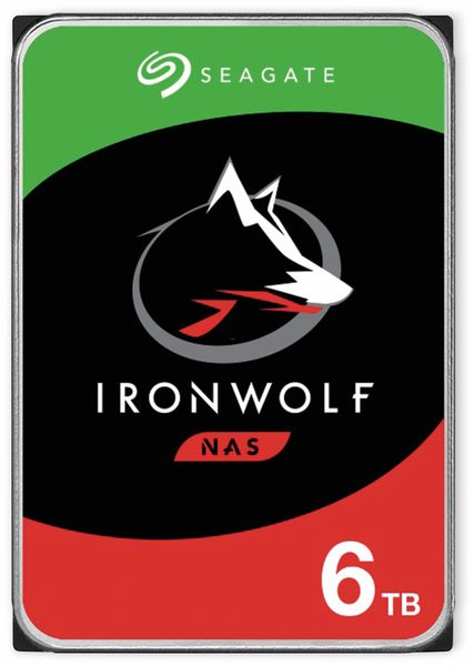 """HDD Seagate IronWolf ST6000VN001, 3,5"""", 6 TB"""