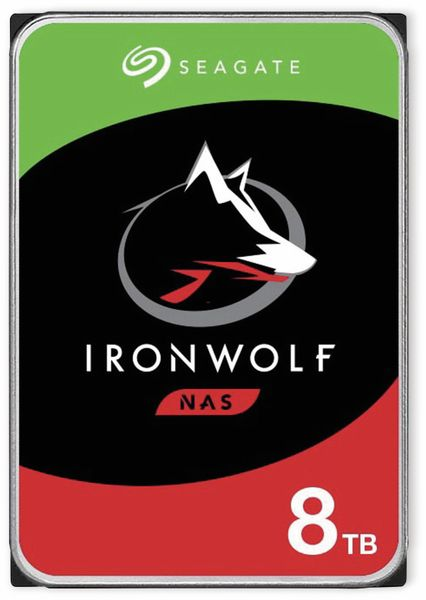 """HDD Seagate IronWolf ST8000VN004, 3,5"""", 8 TB"""