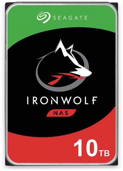 "HDD Seagate IronWolf ST10000VN0008, 3,5"", 10 TB"