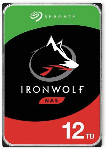 """HDD Seagate IronWolf ST12000VN0008, 3,5"""", 12 TB"""