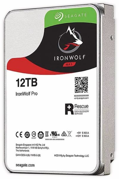 """HDD Seagate IronWolf Pro ST12000NE0008, 12 TB, 3,5"""""""
