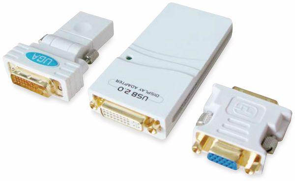 Consumer USB2.0 Adapter ALLNET, DVI/VGA/HDMI