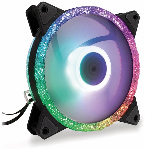 PC-Lüfter ARGUS RS-071 LED, 120 mm, RGB