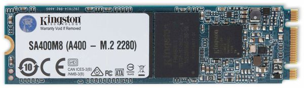 M.2 SSD KINGSTON A400, 480 GB