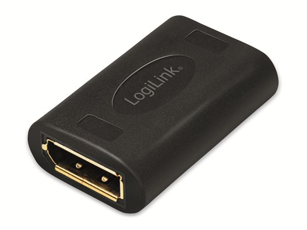 DisplayPort-Adapter LOGILINK CV0145, Buchse/Buchse, UHD, 8K/60 Hz