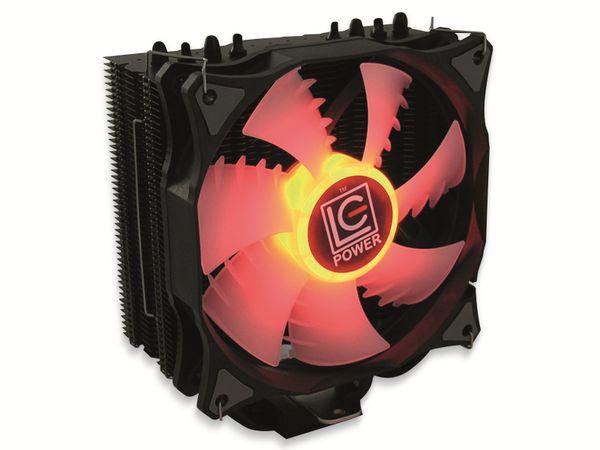 CPU-Kühler LC-POWER LC-CC-120-RGB, 120 mm, 180 W TDP, RGB - Produktbild 2