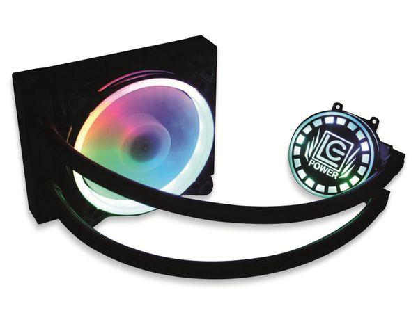 CPU-Wasserkühler LC-POWER LC-CC-120-LiCo, 120 mm, 180 W TDP
