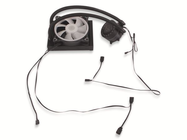CPU-Wasserkühler LC-POWER LC-CC-120-LiCo, 120 mm, 180 W TDP - Produktbild 4