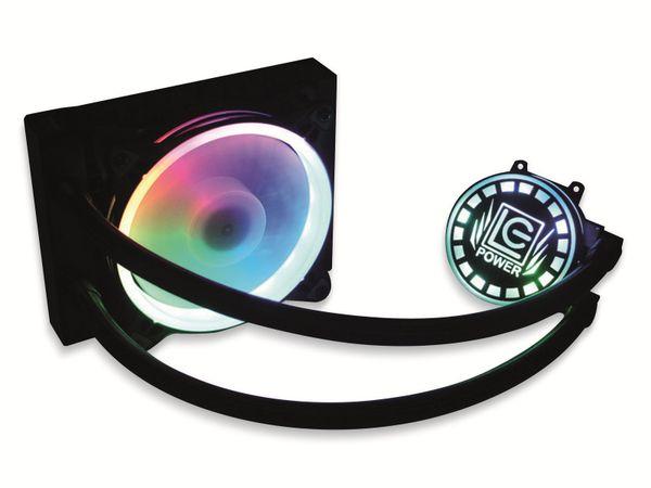 CPU-Wasserkühler LC-POWER LC-CC-120-LiCo-ARGB, 120 mm, RGB