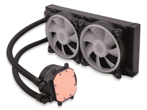 CPU-Wasserkühler LC-POWER LC-CC-240-LiCo-ARGB, 2x 120 mm, RGB - Produktbild 3
