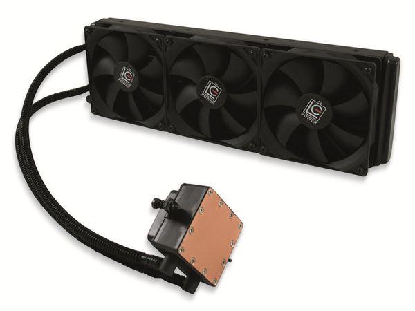 CPU-Wasserkühler LC-Power LC-CC-360-LICO, 3x 120 mm, 350 W TDP