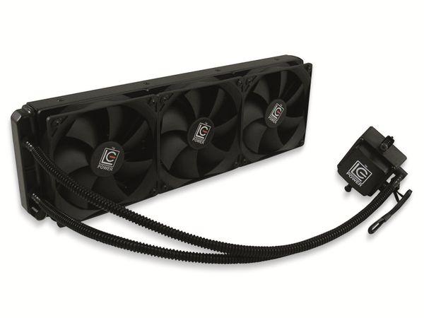 CPU-Wasserkühler LC-Power LC-CC-360-LICO, 3x 120 mm, 350 W TDP - Produktbild 2