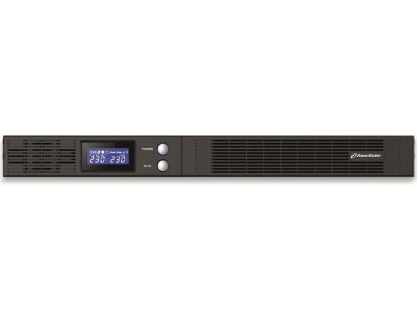USV POWERWALKER VI 750 R1U, 750 VA, 450 W - Produktbild 2