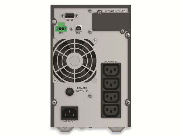 USV POWERWALKER VFI 1000 TG, 1000 VA, 900 W - Produktbild 2