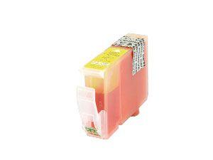 Tintenpatrone mit Chip, passend für CANON CLI-8Y