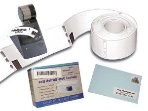 Etiketten für Labeldrucker DYMO, 89x28mm, 130 Stück