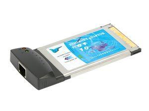 PCMCIA Netzwerkkarte, 10/100 Mbps